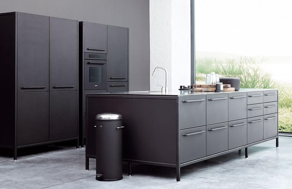vipp – Modulküche aus Stahl